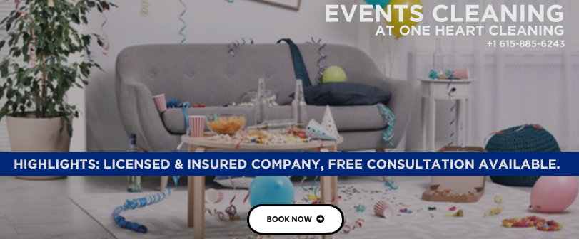 Events Cleaning Services Near Me